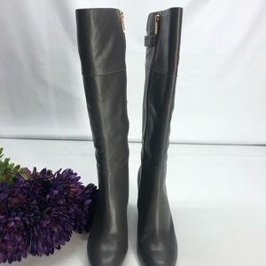 Women's Isola Coralie Steel Grey Leather Boots 8M